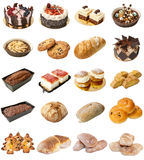 Bakery Mixed Products Royalty Free Stock Photo