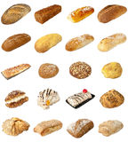 Bakery Mixed selection Royalty Free Stock Photo