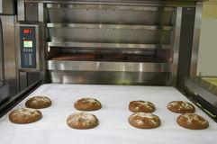 Bakery oven royalty free stock photography