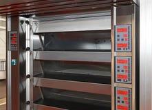 Bakery oven royalty free stock photos