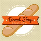 Bakery and Pastries Bread Shop Vector Royalty Free Stock Photo