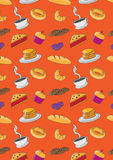 Colourful bakery and pastry background. Image of  bakery and pastry background Stock Images