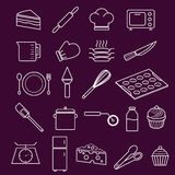 Bakery and Pastry Equipment Icon Stock Photo