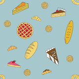 Bakery pattern Stock Photos