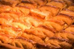 Bakery pie in spotlight Stock Photo