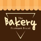 The Bakery Premium Bread Triangle Vector Royalty Free Stock Image