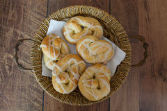 Bakery Pretzel Royalty Free Stock Images