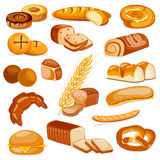 Bakery Product Food Collection Stock Image