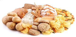 With bakery products Stock Photo