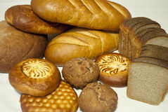 Bakery products. Products from a flour Royalty Free Stock Photo
