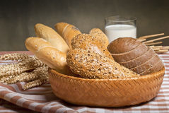 Bakery products Royalty Free Stock Photos