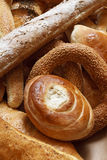 Bakery products in bakery shop Stock Images
