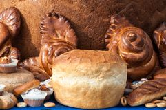 Bakery products Royalty Free Stock Images