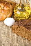 Bakery products and grain Royalty Free Stock Images