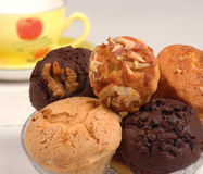 Bakery Products Muffins Stock Image