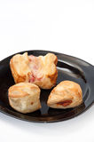 Bakery products on a plate Royalty Free Stock Photo