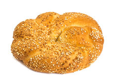 Bakery products of wheat with sesame Royalty Free Stock Images
