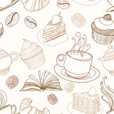 Bakery seamless Royalty Free Stock Images