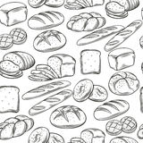 Bakery  seamless pattern. Stock Photography