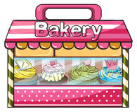 A bakery selling baked goodies Stock Images