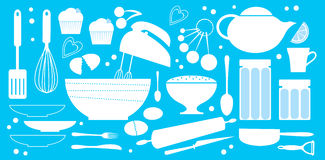 Bakery set stock illustration