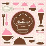 Bakery set  0065 Royalty Free Stock Image