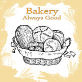 Bakery set Royalty Free Stock Photography