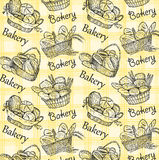 Bakery set Royalty Free Stock Photo