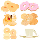 Bakery  set Stock Image