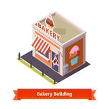 Bakery shop building Royalty Free Stock Photography