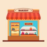 Bakery shop. Stock Photos