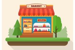 Bakery shop. Royalty Free Stock Photo