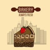 Bakery shop design Stock Photos