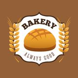 Bakery shop design. Vector illustration eps10 graphic royalty free illustration