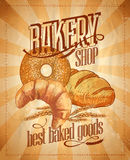 Bakery shop design. Royalty Free Stock Images