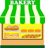 Bakery Shop (Vector) Royalty Free Stock Photo