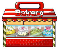 A bakery shop Royalty Free Stock Image