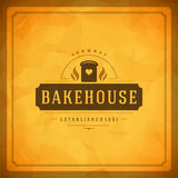 Bakery Shop Logo Design Element Royalty Free Stock Photos