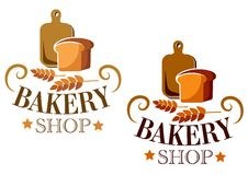 Bakery Shop sign or label Royalty Free Stock Photo