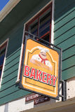 Bakery Sign Royalty Free Stock Photos