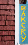 Bakery sign Royalty Free Stock Images