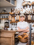 At bakery Royalty Free Stock Photography