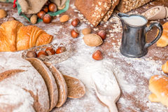 At the bakery Royalty Free Stock Photography