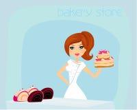 Bakery store stock image