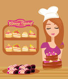 Bakery store Royalty Free Stock Photography