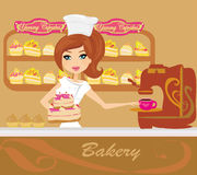 Bakery store Royalty Free Stock Photos