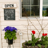 Bakery storefront Stock Photography