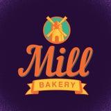 Bakery Stylish Poster Stock Image