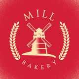 Bakery Stylish Poster Stock Photos