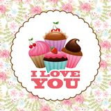 Bakery sweet design Stock Photography